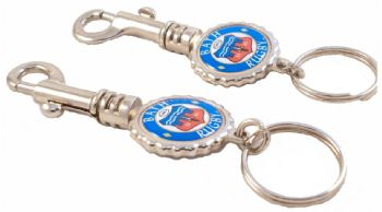 Trigger hook keyring round decals
